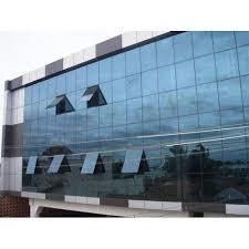 Aluminium Structural Glazing for Corporate Building