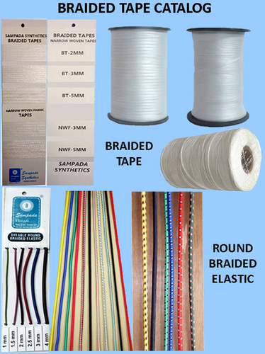 Braided Elastic Tapes
