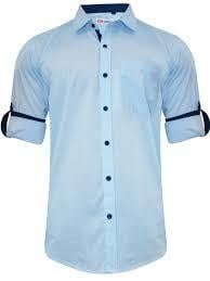 Mens Pure Cotton Casual Shirts Gender: Boy