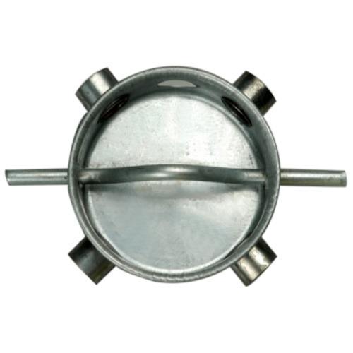 Silver Effective Ceiling Fan Box