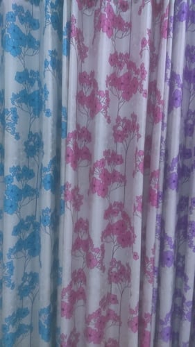 Finely Finished Patch Curtain
