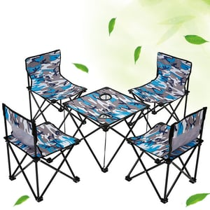 Outdoor Easy Folding Tables And Chairs Leisure Beach Picnic Mini Tables And Chairs Suits