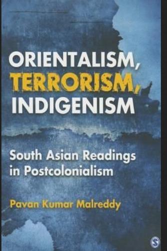 Orientalism Terrorism Indigenism Novel