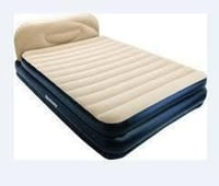 Two Colour Inflatable Bed