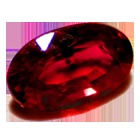 Ruby - Precious Stone Pinkish Red Color
