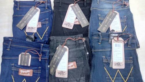 Customs Seized Branded Denim Jeans With Bill