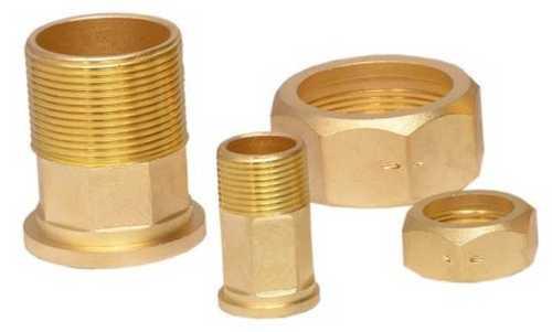Water Meter Brass Nut Nipples