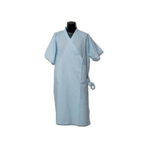 Half Sleeve Plain Patient Gown