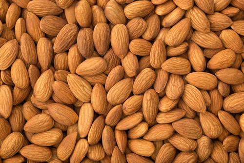 Dried Organic Almond Nuts