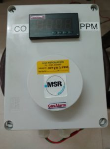 Cost Efficient Standalone Toxic/Combustible Gas Monitoring And Control System