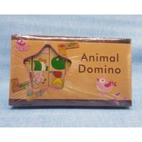 15pc Animal Domino Game