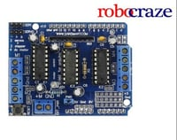 L293d Arduino Motor Drive Shield For Servo, stepper And DC Motor