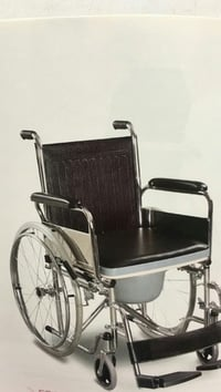 Robust Design Commode Wheelchair