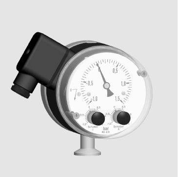 Vacuum Pressure Gauge/Switch