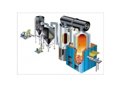 Solid Fuel Fired Thermic Heater