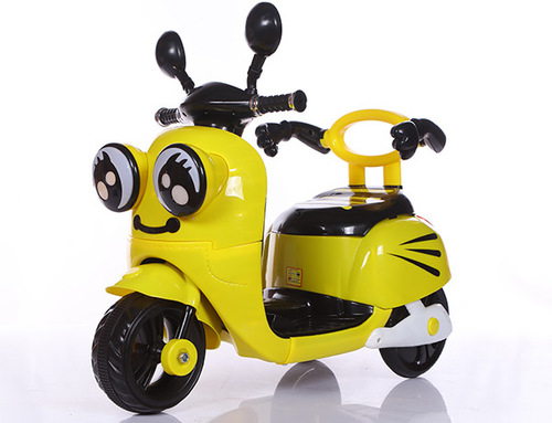 Children Electric Motorcycle (Yellow)