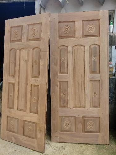 Designer Teak Wood Door At Best Price In Kochi Kerala