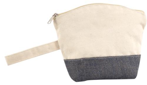 Plain Canvas Pouch Bag