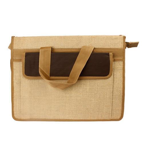 Plain Jute Office Bag