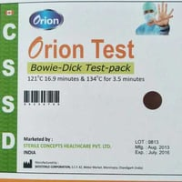 Bowie-Dick Test Pack