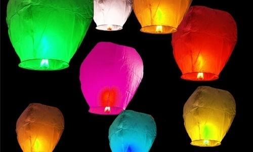 Paper Sky Lanterns