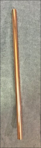 Pure Copper Straw Pipe