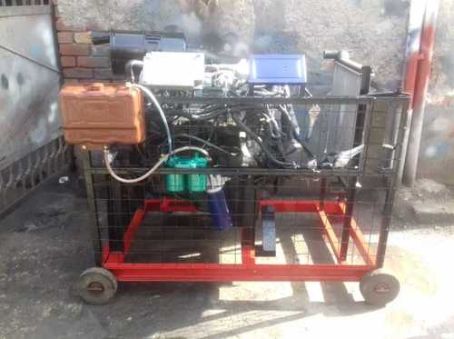 Diesel Engine In Running Condition