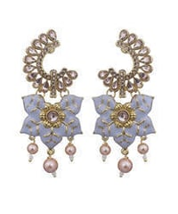 Gold Plated Classic Earrings
