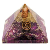 Polished Orgone Crystal Pyramid