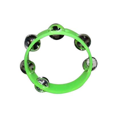 Stainless Steel And Plastic Musical Tambourine