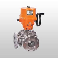 3 Way Motorised Ball Valve