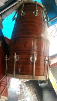 Durable Musical Wooden Dholak