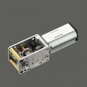 High Torque 12v Dc Worm Gear Motor For Medical Equipment