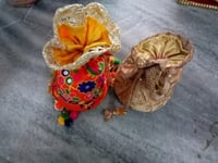 Multicolour Crafted Potli Bags