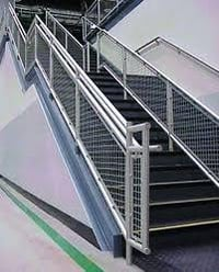 Rugged Design Handrail System