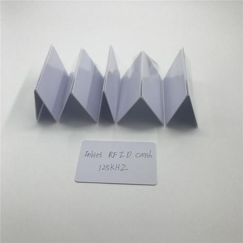 125KHZ TK4100 RFID ID Inkjet Card