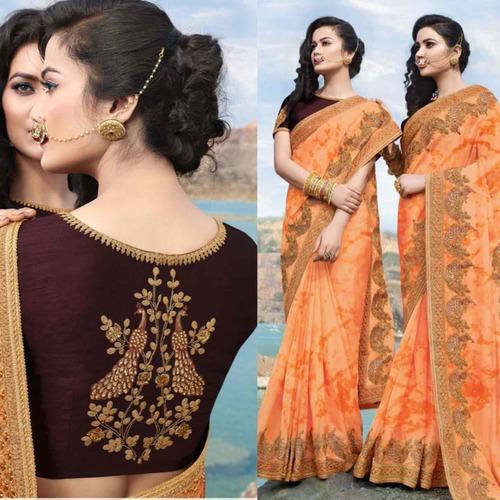 Designer Sarees With Blouse