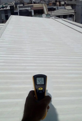 Roof Insulation Coating Service
