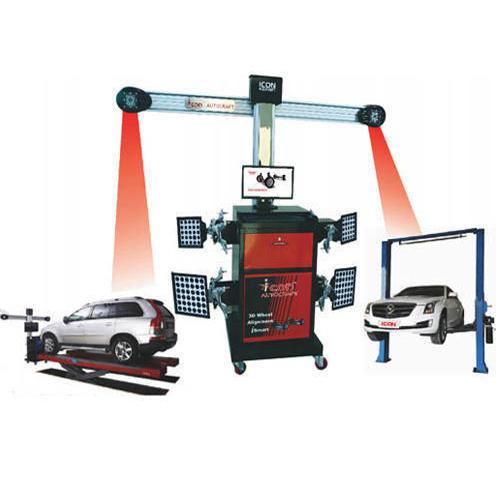 3D Wheel Alignment Machine (ISMART)