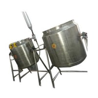Stainless Steel Rice Cooking Vessel