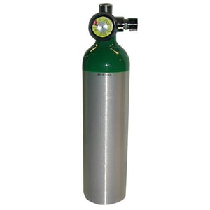 Commercial Oxygen Gas Cylinder