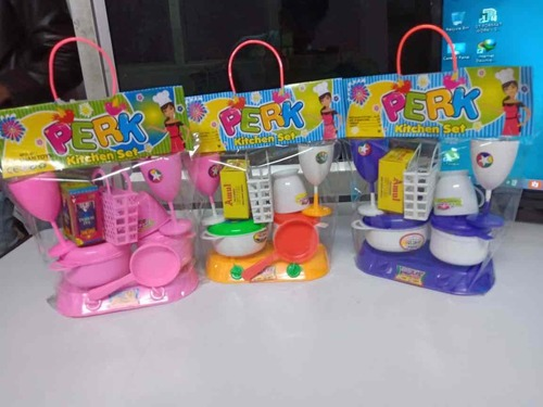 Kids Perk Kitchen Set Plastic Toys At Best Price In Delhi Delhi Aayaha Toys Industries