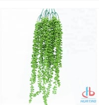 Artificial Green Bamboo Leaves