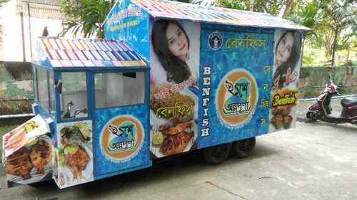 Fancy Electric Food Van