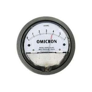 Omicron Magnehelic Differential Pressure Gauge H2000 50mmwc