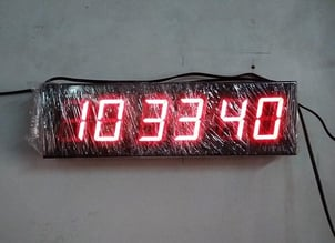 LED Clock With And Without GPS