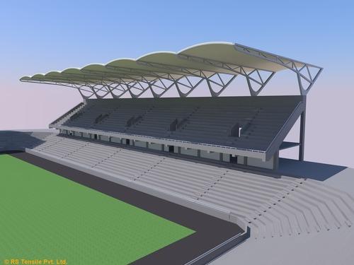 Stadium Tensile Roofing Structure