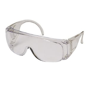 Clear Lens Over Spectacle