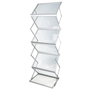 Foldable Brochure Stands For Indoor And Outdoor