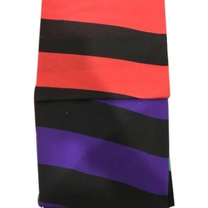 Sinker Stripes Knitted Fabric